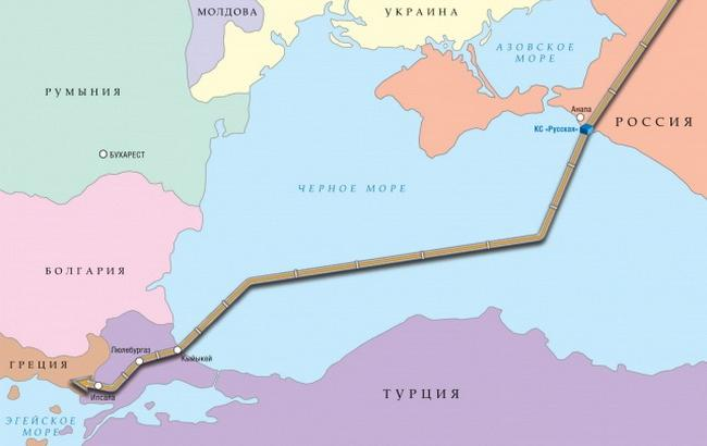 """Турция и РФ могут подписать соглашение по """"Турецкому потоку"""" в июне"""