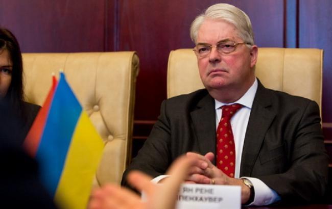 Фото: посол Нідерландів Кейс Кломпенхаувер