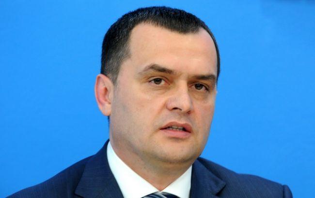 Фото: бывший министр внутренних дел Украины Виталий Захарченко