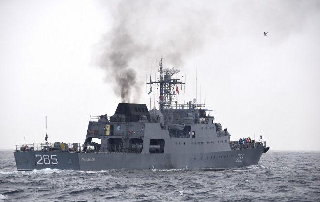 ВМС Украины и Румынии провели учения в Черном море типа PASSEX