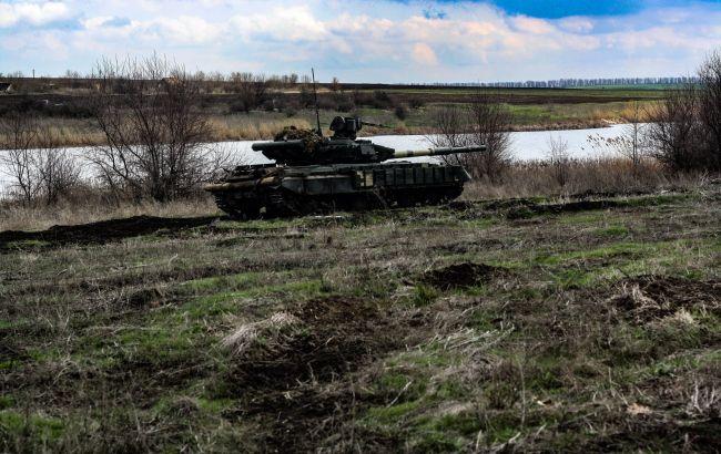 Знищили умовного противника: українські танкісти провели навчання на Донбасі