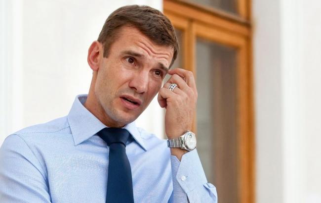 Андрій Шевченко офіційно став головним тренером збірної України