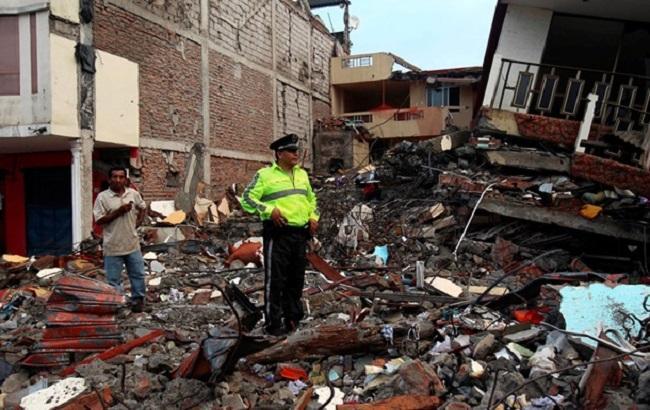 Землетрус в Еквадорі: кількість загиблих зросла до 233 осіб