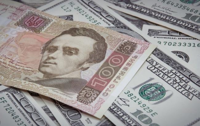 Курс гривні додолара зміцнився до27,89 грн/$