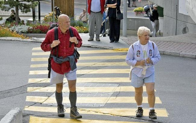 Фото: пенсіонери Швейцарії