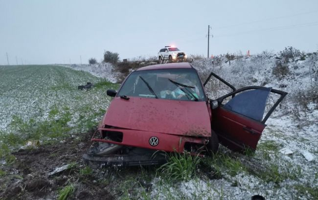 В Запорожской области в аварию попали представители ОПОРЫ, есть пострадавшие