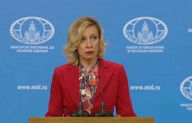 Мария Захарова (Кадр из видео YouTube/RT на русском)