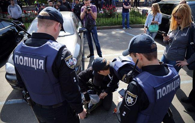 Фото: Поліція Києва (РБК-Україна)