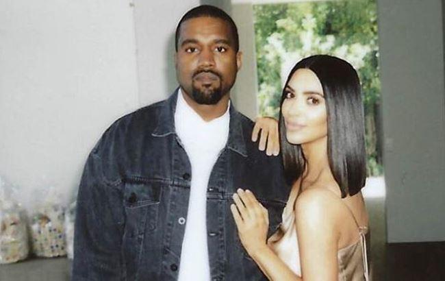 Фото: Кім Кардашян і Каньє Уест (instagram.com/kimkardashian)