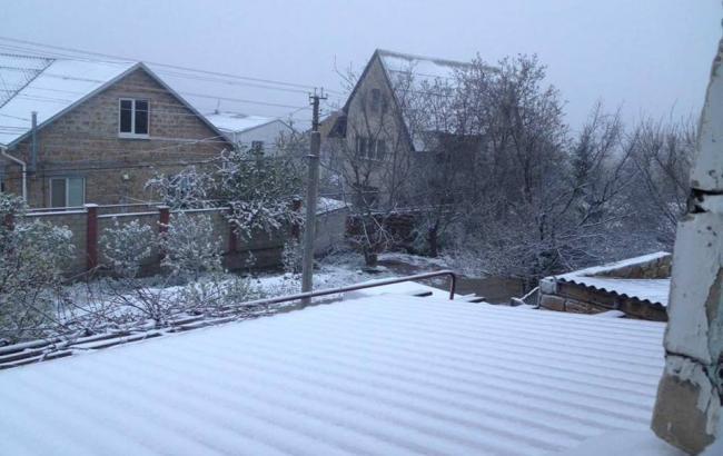 Фото: Снег в Крыму (facebook.com/seydamet.mustafaev.7)