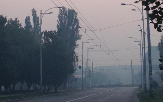 Фото: зміг внаслідок пожеж під Києвом