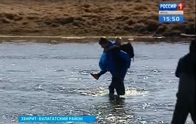 Кадр з відео (YouTube/Vesti Irkutsk)