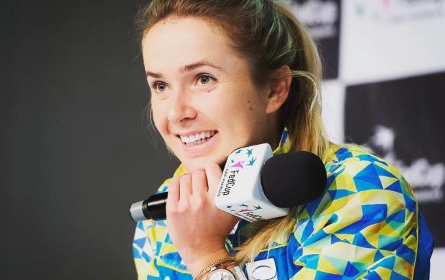 З тенісисткою Еліною Світоліною стався неприємний конфуз після перемоги на турнірі