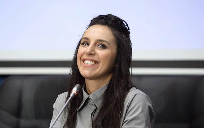 Джамала виконала свою нову пісню під час прес-конференції на Євробаченні 2017