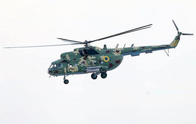 У Рівненській області розбився військовий вертоліт, є загиблі