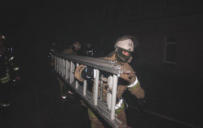 Не было воды: в Киеве в результате пожара погибли два человека