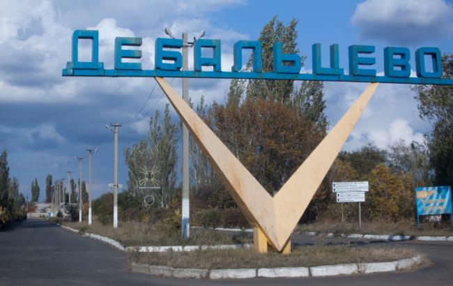 Фото: штаб АТО сообщает о провокациях в Дебальцево 26 ноября