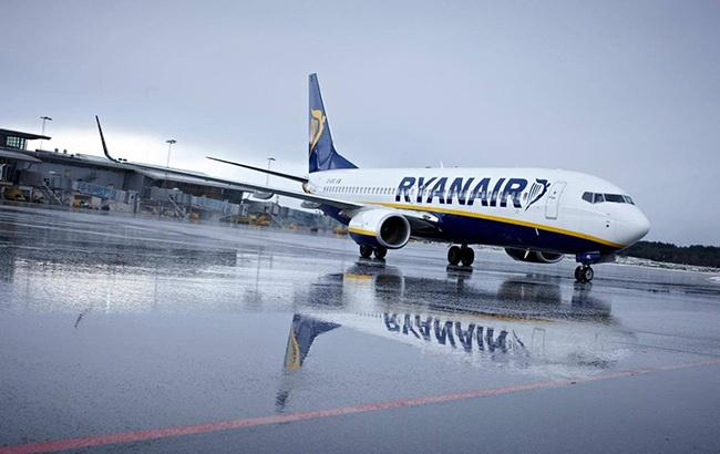 Ryanair скасував 250 рейсів через страйк