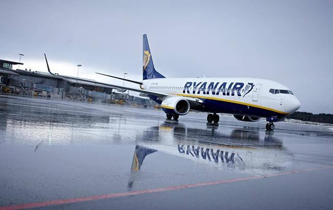 Пілоти Ryanair проведуть 24-годинний страйк 20 грудня
