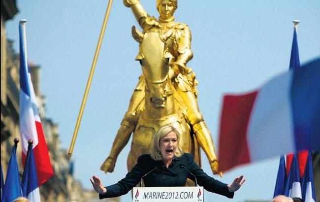 У мережі висміяли програш Ле Пен на президентських перегонах