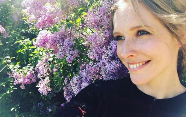 Катя Осадча показала, як поєднує роботу і материнство