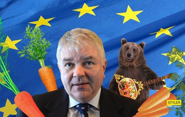 """У МЗС РФ назвали безвіз для України """"морквиною на мотузочці"""""""