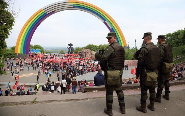 Фото: Арка Дружбы народов (РБК-Украина)