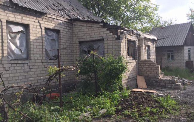 Фото: разрушения в Авдеевке