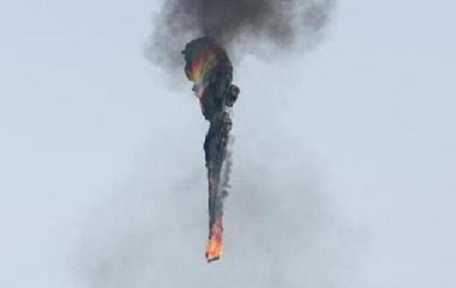 Фото: падение воздушного шара в Техасе