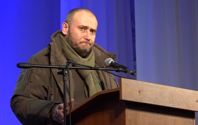 Дмитро Ярош (Кадр з відео/YouTube/Восточный фарватер)
