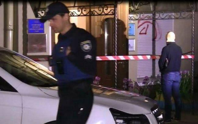 Фото: в киевском офисе КУН прогремел взрыв