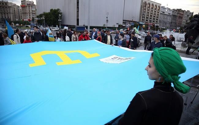 Фото: Прапор кримських татар (РБК-Україна)
