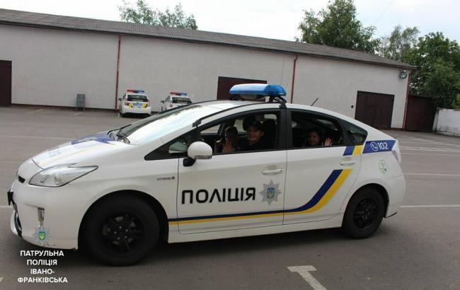 Фото: Поліція Івано-Франківська (facebook.com/pg/Патрульна-поліція-Івано-Франківська)