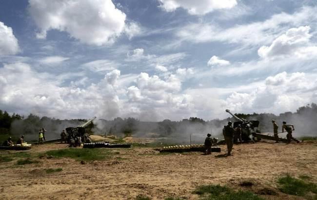 У мережі показали, як бойовики обстрілювали позиції АТО з мінометів