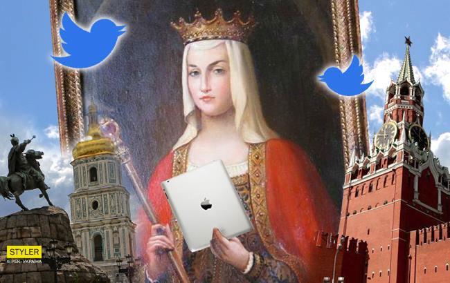Україна та Росія посперечалися через Анну Ярославну у Twitter
