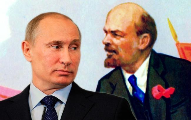 Фото: Кримчани бачать в Путіні Леніна (cont.ws)