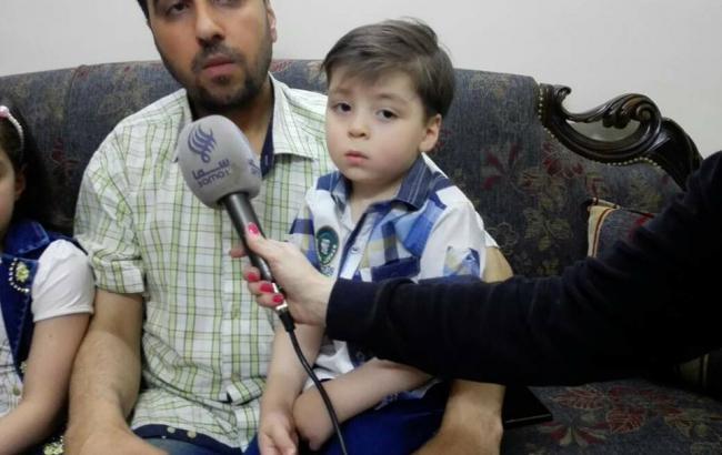 Отец мальчика из Алеппо отказался вывезти ребенка из страны