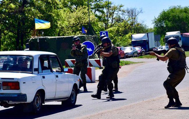 Нацгвардійцй затримали на блокпосту в зоні АТО терориста