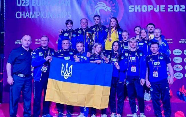 Вісім медалей та першезагальнокомандне місце: як виступили українки на ЧЄ з боротьби в Македонії