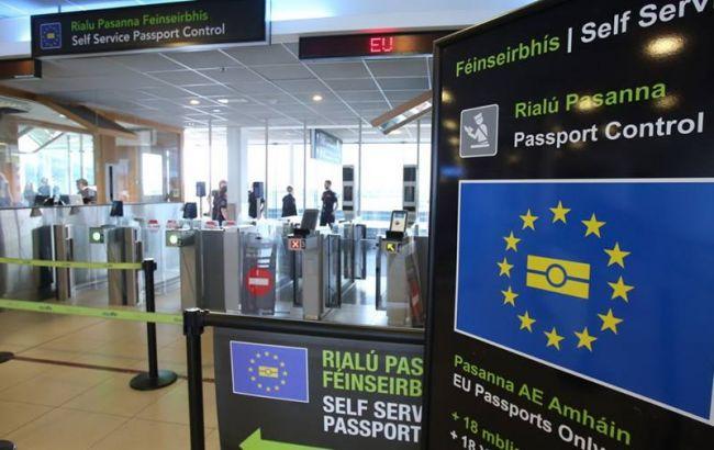 Понад 1300 українців без віз потрапили в ЄС, п'ятьом відмовили у в