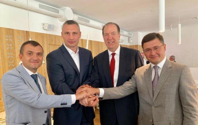 Кличко обсудил с президентом Всемирного банка реформу децентрализации