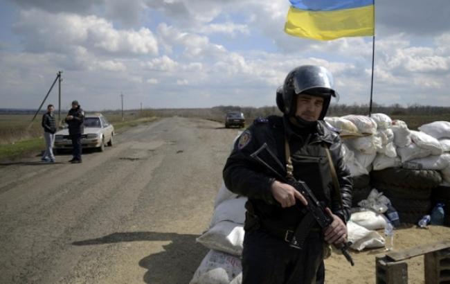Вокруг Харькова начинают функционировать новые блокпосты