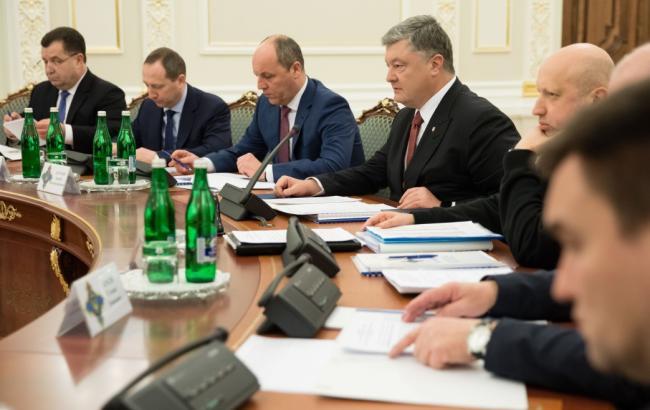 СНБО утвердил государственный оборонный заказ на 2018-2020 годы
