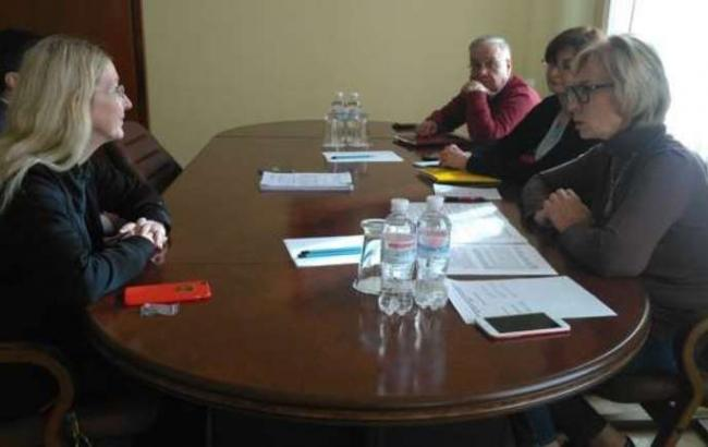 Фото: обговорення законопроекту про медстрахування