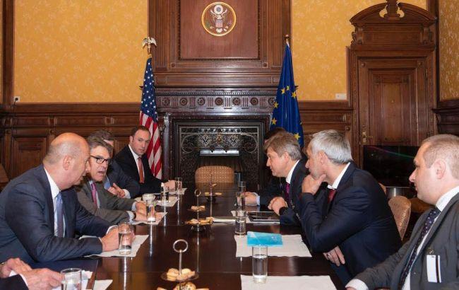 Радники Зеленського обговорили з послами ЄС протидію агресії РФ