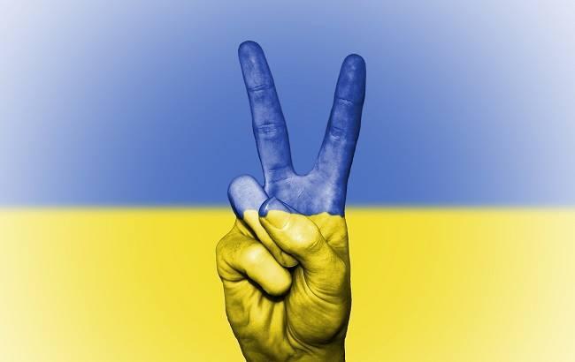 В Донецкой области развернули самый большой в мире государственный флаг