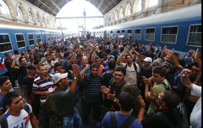 Фото: біженці з Туреччини (twitter.com/EU_Commission)