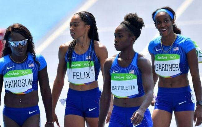 Фото: Американские спортсменки
