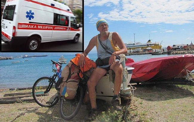 Відомого мандрівника ледь не вбило колесом від УАЗа Нацгвардії: подробиці (відео)