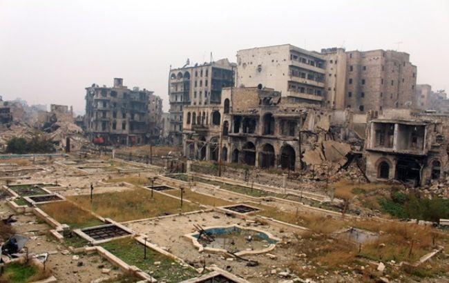 Фото: Алеппо превратился в руины